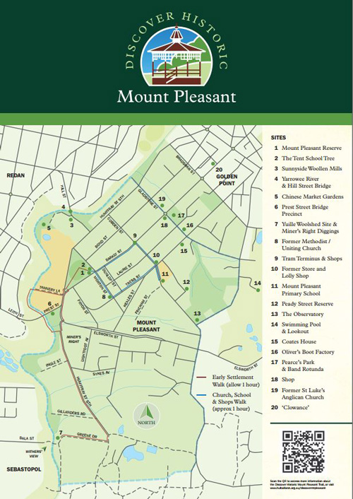 mt pleasant map